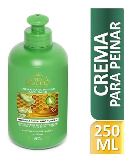 Crema Para Peinar Tio Nacho Aloe Vera 200 Ml