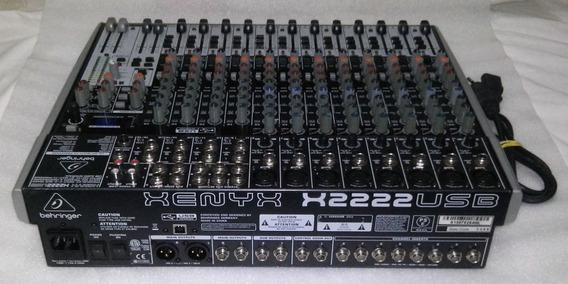 X2222 Usb Mesa Behringer Xenyx X 2222 Usb Interface Efeitos