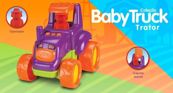 Trator Baby Truck - Roma Brinquedos