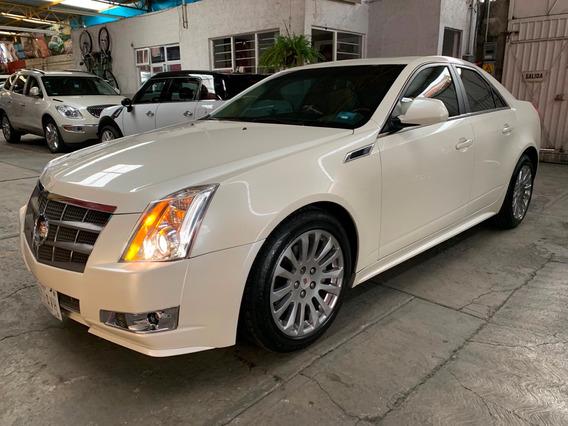 Cadillac Cts Premium, Piel, Qcoco, Excelente Manejo