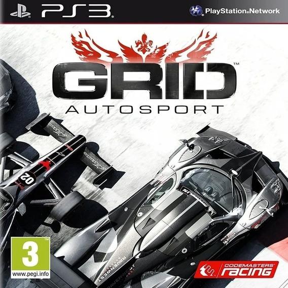Grid Autosport Ps3 Psn Dublado Português Pt Br Jogo Promoção