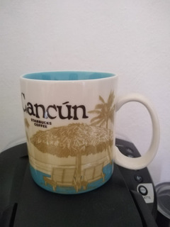 Starbucks Taza De Cafe Mug Original Autentica Cancun