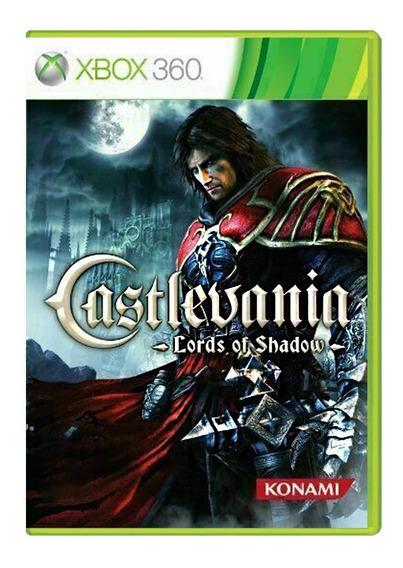 Castlevania Lords Of Shadow 1 - Xbox 360 - Usado - Original