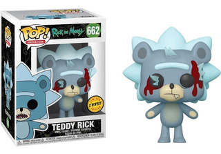 Funko Pop! Teddy Rick Chase Edition Rick And Morty