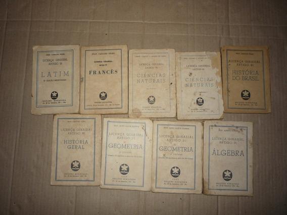 Livros Antigos Miniaturas