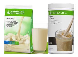 Shake Herbalife 550g + Nutrev 672g