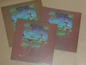 Disco De Vinil - Lp Yes - Yessongs (album Triplo) Raro!