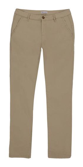 Pantalón Básico Semi Ajustado De Hombre C&a