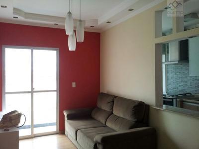 Apartamento Para Alugar No Bairro Vila Mogilar Em Mogi Das - 573-2