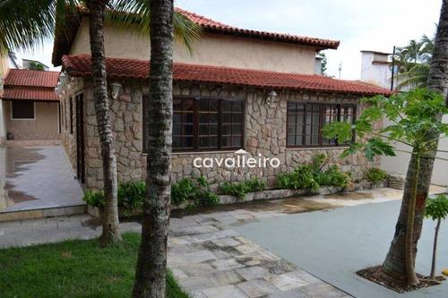 Casa  À Venda, Jardim Interlagos (ponte Preta), Maricá. - Ca2541