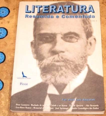 Livro Literatura Resumida Comentada - Jose Amzalak (2000)