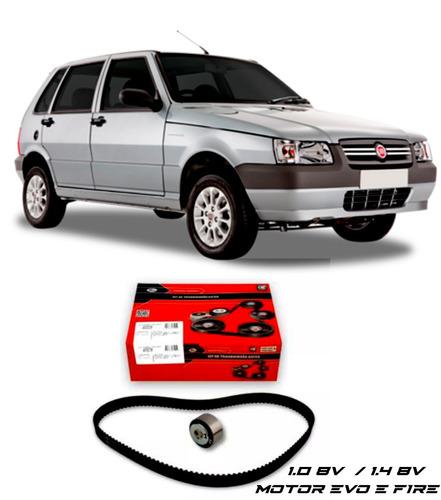 Imagem 1 de 2 de Kit Correia Dentada Gates Fiat Uno 1.0 8v Motor Fire 2012