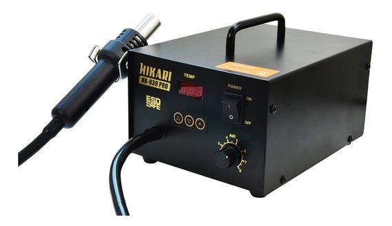 Estação Ar Profissional 127v Esd Digital Hikari Hk-939 Pro
