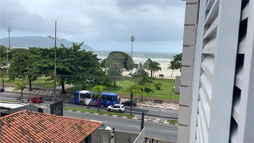 Imagem 1 de 30 de Frente Mar Mobiliado No Gonzaga! - Reo575648