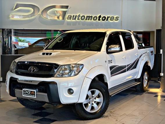 Toyota Hilux Srv 3.0 Tdi 4x4 At   2011 Recibo Menor Y Financ