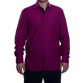 Camisa Social Masculina Luiz Eugenio Slim Comfort Fio 80