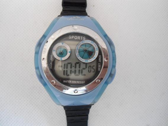Relógio Sport Digita Lde Mostruário Novo- Promoção Unissex