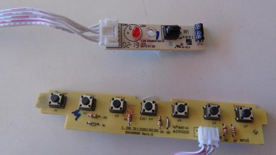 Teclado De Funções E Sensor Remoto Tv Philco Ph24mr A2