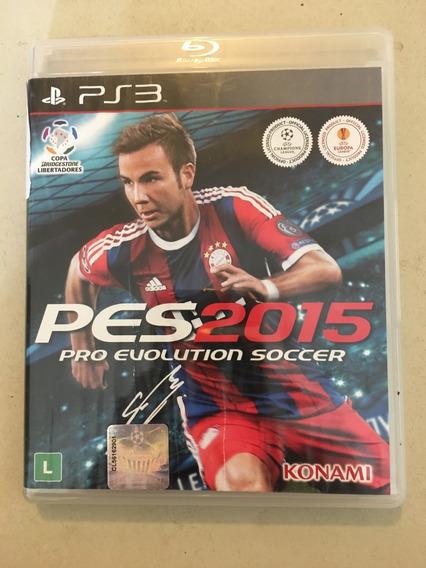 Game Ps3 Pro Evolution Soccer 2015