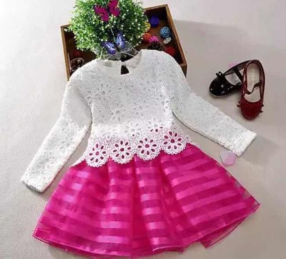 Vestido Infantil Menina Outono Grippir