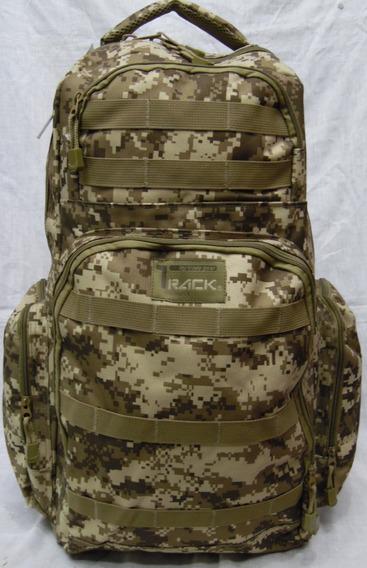 Mochila Tactica Militar Camuflaje Pixelado Digital Alpinismo