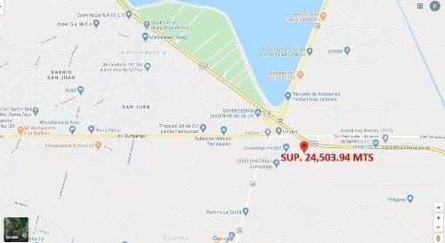 Terreno Circuito Exterior Mexiquense Sup. 24,503.94 Mts