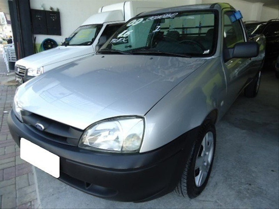 Ford Courier Manual 1.6 L Prata Flex 2p 2009