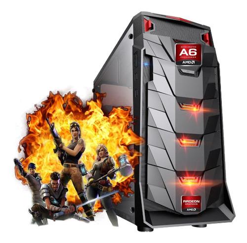Imagem 1 de 2 de Cpu Gamer Barata Amd A6 7480 8gb Ssd 240 Video Radeon R5 2gb