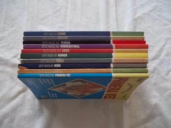 Lote 10 Livros Coleção 7 Faces Amor Humor Terror E Outros