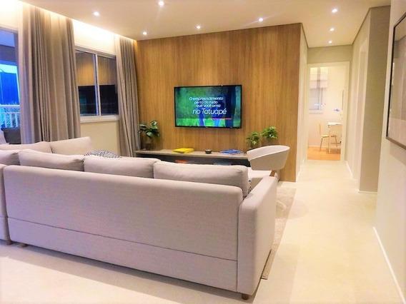 Apartamento Em Tatuapé, São Paulo/sp De 105m² 3 Quartos À Venda Por R$ 811.000,00 - Ap423614