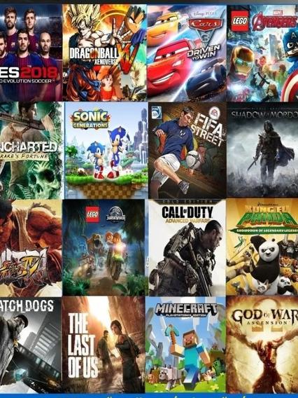 Jogos Pacote De + 1000 Jogos Ps3