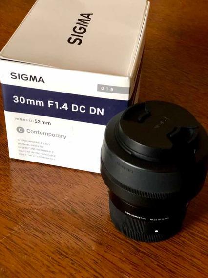Lente Sigma 30mmm F1.4 Dc Dn
