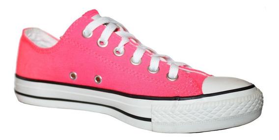 Tenis Converse Color Rosa Mexicano Fucsia 24 Cm