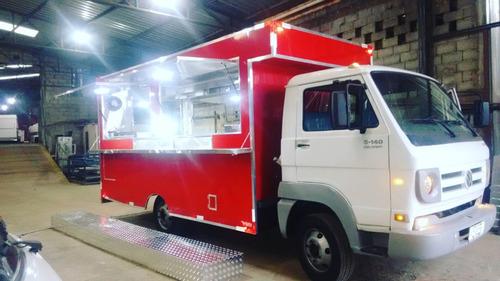 Food Truck Para Caminhão Montagem (montagem Sem O Veículo)