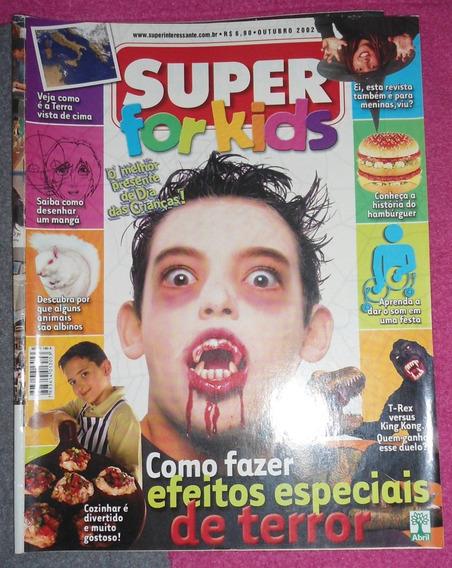 Revista Super For Kids Usada, Mas Conservada Outubro De 2002