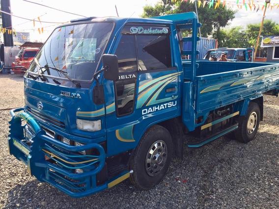 Super Ofertas D Camiones Daihatsu Delta Cama Corta 2000 Azul
