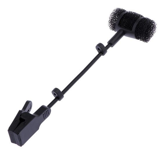 Magideal Saxofone Microfone Mic Clipe Titular Acessório Des