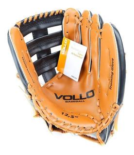 Luva De Beisebol Vollo 12.5 Couro Sintético Baseball