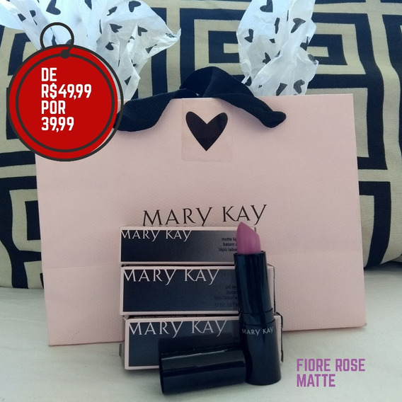 Kit Baton Matte Efeito Molhado - Lábios Batons Mary Kay em