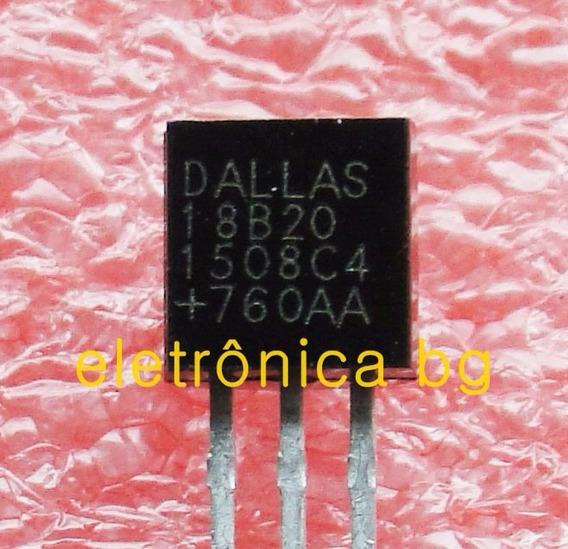 Ds18b20 Sensor Ds18b20 Original Dallas Kit Com 10 Peças