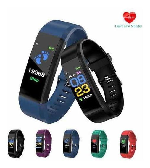 Pulsera Inteligente Presión Arterial Frecuencia Cardíaca