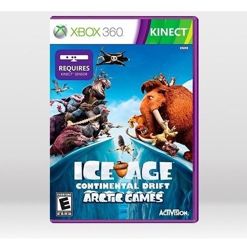 Ice Age Continental Drift Arc Era Do Gelo - Xbox 360 - Novo
