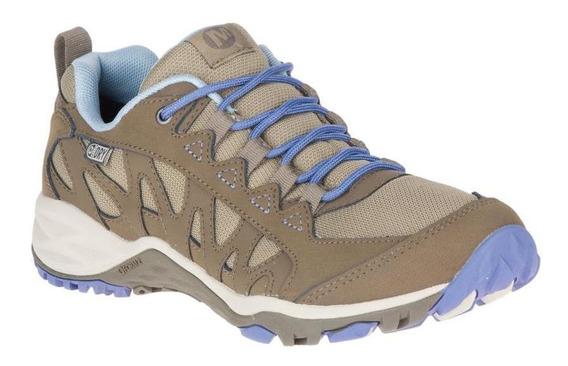 Zapato Mujer Merrell Lulea Wp Boulder Hiking