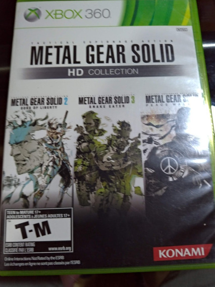 Metal Gear Solid Hd Colection