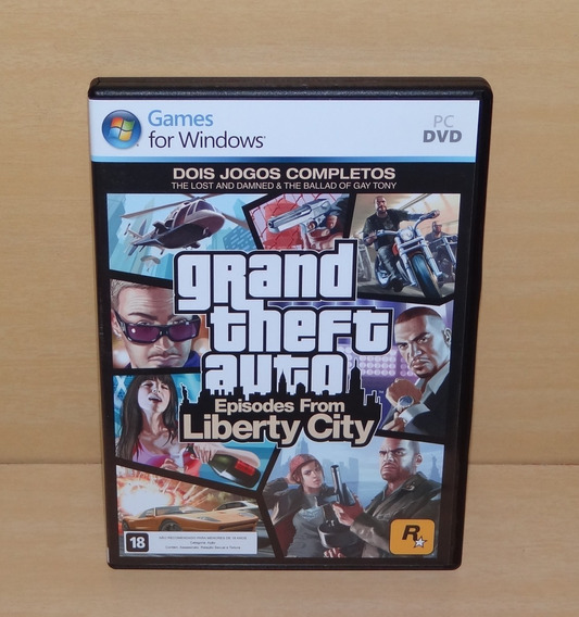 Gta Grand Theft Auto Episodes From Liberty City - Pc