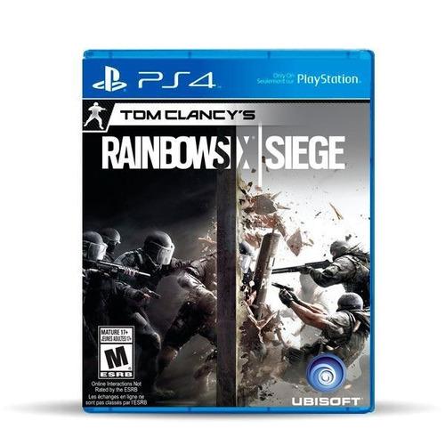 Tom Clancy's Rainbow Six Siege (nuevo) Ps4 Físico, Macrotec