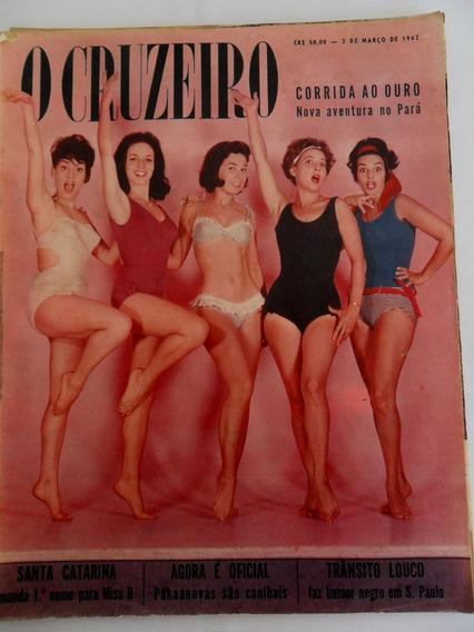 Revista O Cruzeiro Março De 1962 Vânia Miss Santa Catarina