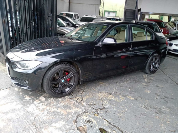 Bmw 316 Sport 1.6 Turbo 2014 Preta Com Interior Bege