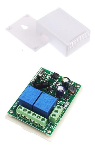 Imagen 1 de 4 de Modulo Receptor A Control Remoto Rf 2canal 85-250vac