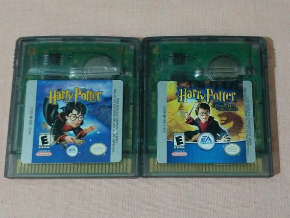 Kit Harry Potter + Harry Potter 2 Originais Em Portugues!!